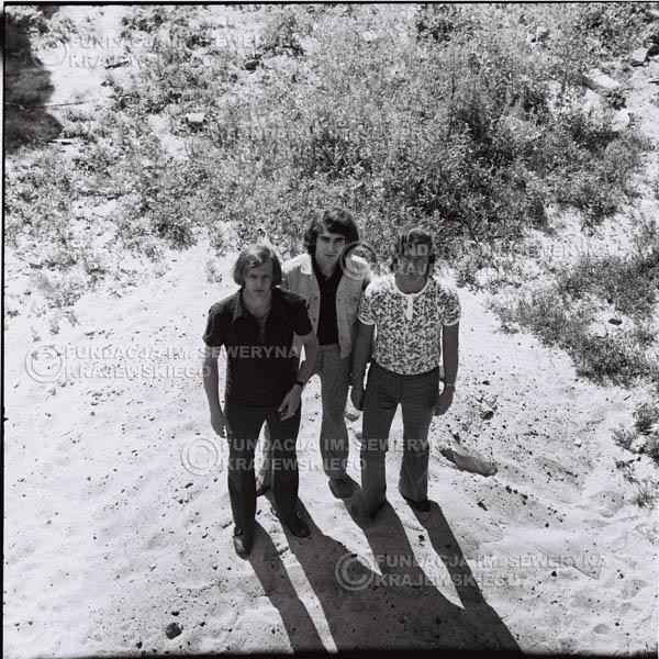 # 1004 - Czerwone Gitary 1970r. w składzie: Seweryn Krajewski, Bernaed Dornowski, Jerzy Skrzypczyk.