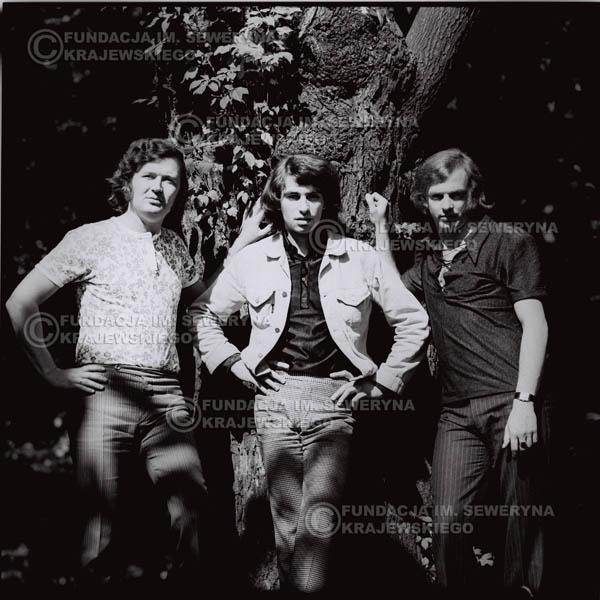 # 1021 - Czerwone Gitary 1970r. w składzie: Seweryn Krajewski, Bernaed Dornowski, Jerzy Skrzypczyk.