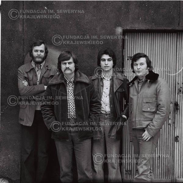 # 1070 - 1975r. od lewej: Jerzy Skrzypczyk, Ryszard Kaczmarek, Seweryn Krajewski, Bernard Dornowski