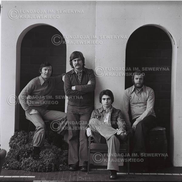 # 1080 - 1975r. od lewej: Bernard Dornowski, Ryszard Kaczmarek, Seweryn Krajewski, Jerzy Skrzypczyk