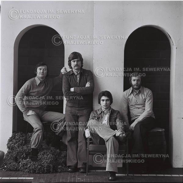 # 1081 - 1975r. od lewej: Bernard Dornowski, Ryszard Kaczmarek, Seweryn Krajewski, Jerzy Skrzypczyk
