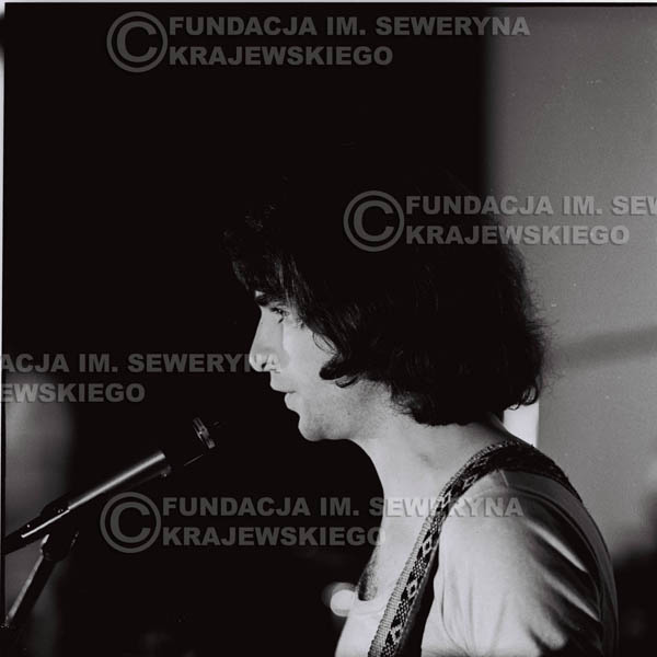# 1253 - 1973r. Seweryn Krajewski - koncert Czerwonych Gitar w Teatrze Polskim we Wrocławiu.
