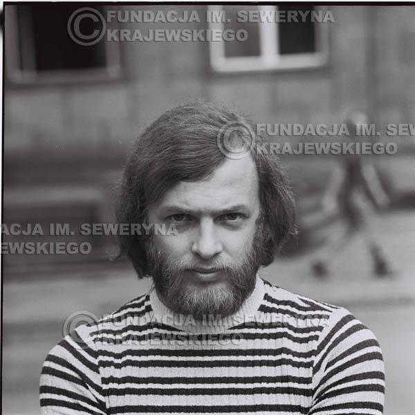 # 1277 - Jerzy Skrzypczyk, 1973r na starówce w Poznaniu.