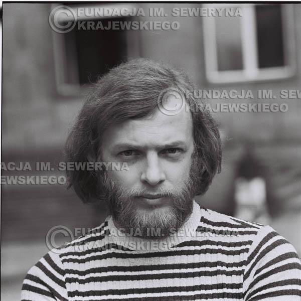 # 1278 - Jerzy Skrzypczyk, 1973r na starówce w Poznaniu.