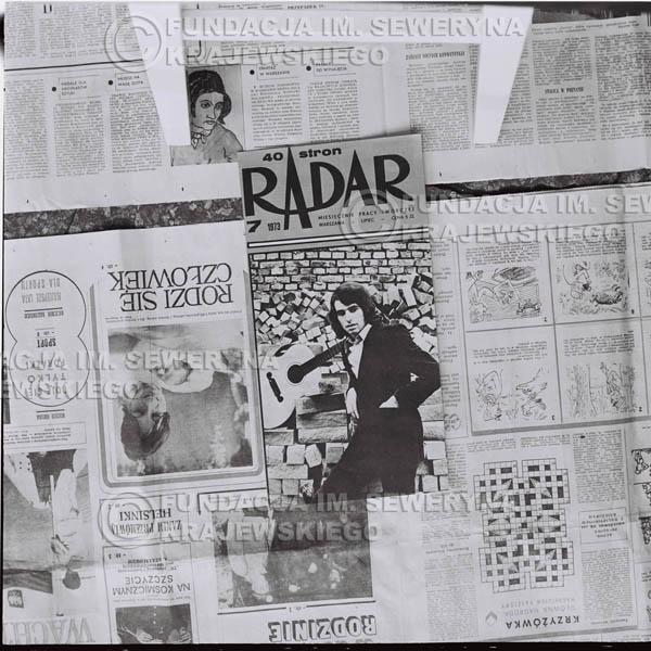 # 1423 - Okładka Miesięcznika Pracy Twórczej 'Radar'