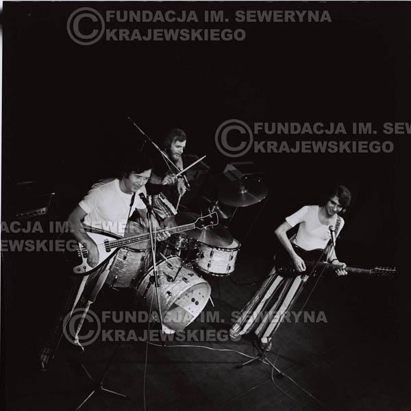 # 1439 - 1973r. koncert Czerwonych Gitar w Poznaniu w składzie: Bernard Dornowski, Seweryn Krajewski, Jerzy Skrzypczyk.