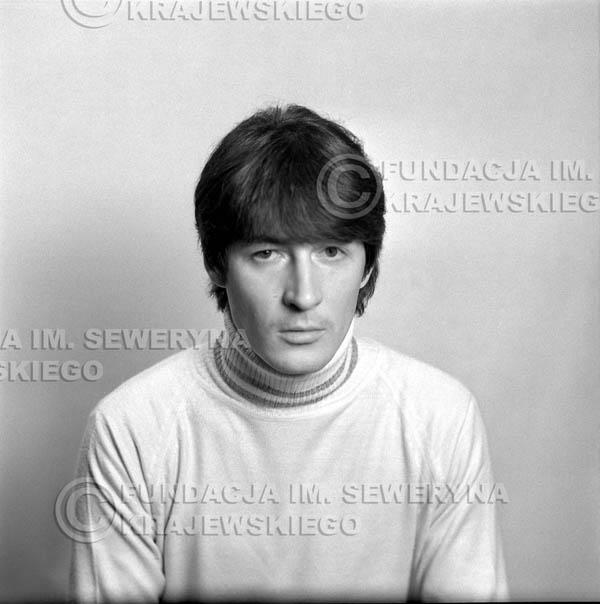 # 149 - 1967r. - Krzysztof Klenczon sesja do trzeciego albumu pt: 'Czerwone Gitary 3'