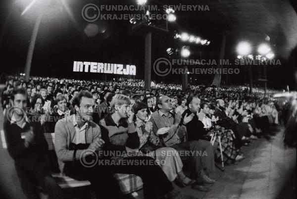 # 1520 - 1980r. Czwarty Międzynarodowy Festiwal Interwizji w Sopocie, widownia.
