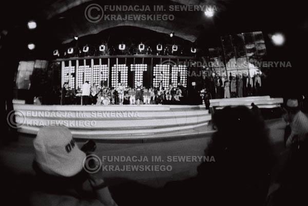 # 1522 - 1980r. Czwarty Międzynarodowy Festiwal Piosenki Interwizja w Sopocie.