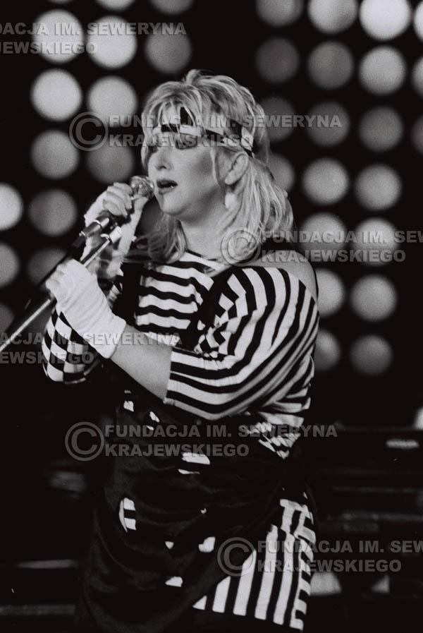 # 1536 - Maryla Rodowicz, 1984r. Międzynarodowy Festiwal Piosenki w Sopocie.