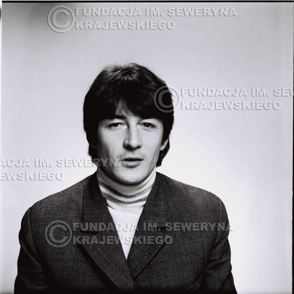 # 183 - 1967r. Krzysztof Klenczon sesja zdjęciowa do płyty pt: 'Czerwone Gitary 3'
