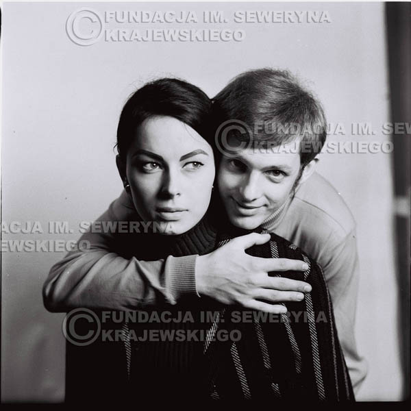 # 213 - Jerzy Skrzypczyk z narzeczoną Marylą, 1967r.
