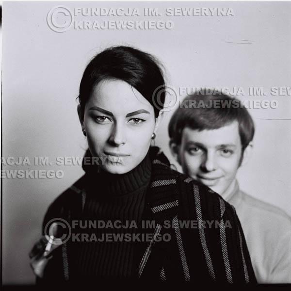 # 215 - Jerzy Skrzypczyk z narzeczoną Marylą, 1967r.