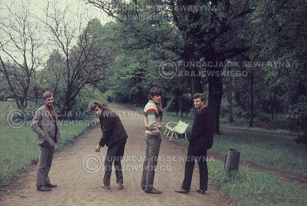 # 296 - Czerwone Gitary 1967r. sesja do płyty pt: 'Czerwone Gitary 3' Park Oliwski