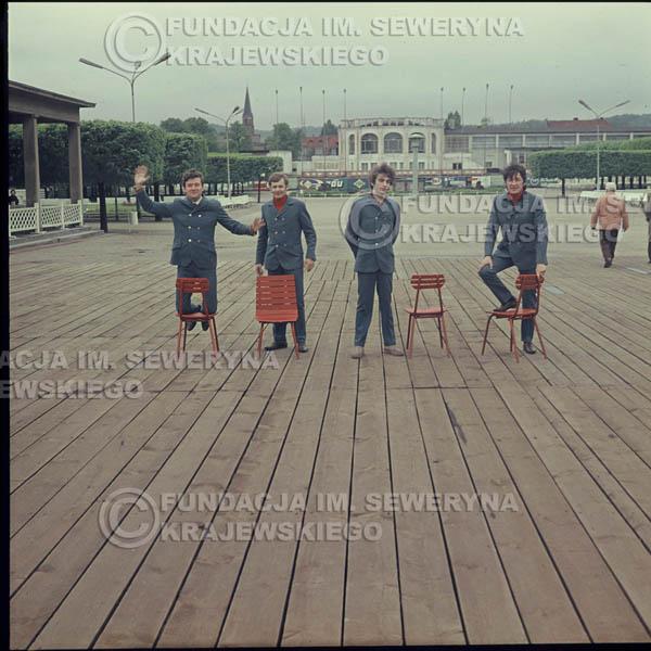 # 337 - Molo w Sopocie, Czerwone Gitary, sesja do płyty pt: 'Czerwone Gitary 3' 1967r