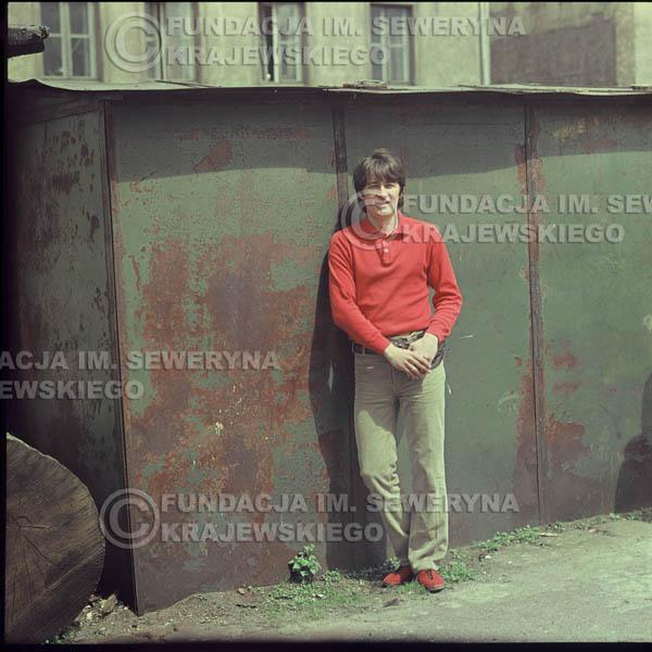 # 343 - Krzysztof Klenczon, Łódź, sesja do płyty pt: 'Czerwone Gitary 3' 1967r