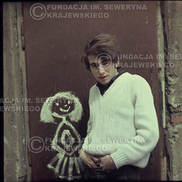 # 346 - Seweryn Krajewski, Łódź sesja do płyty pt: 'Czerwone Gitary 3' 1967r