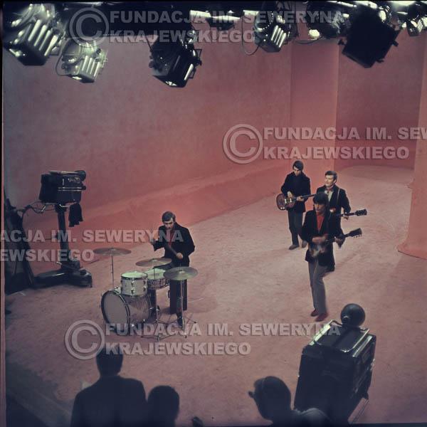 # 359 - Czerwone Gitary 1967r, telewizja w Warszawie, promocja trzeciej płyty
