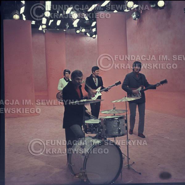 # 361 - Czerwone Gitary 1967r, telewizja w Warszawie, promocja trzeciej płyty