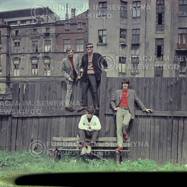 # 369 - Czerwone Gitary, Łódź, sesja zdjęciowa do płyty pt: 'Czerwone Gitary 3' 1967r
