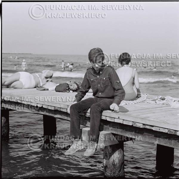 # 388 - Seweryn Krajewski, 1967r. sesja w Sopocie (zdjęcia dla fanów do autografów)