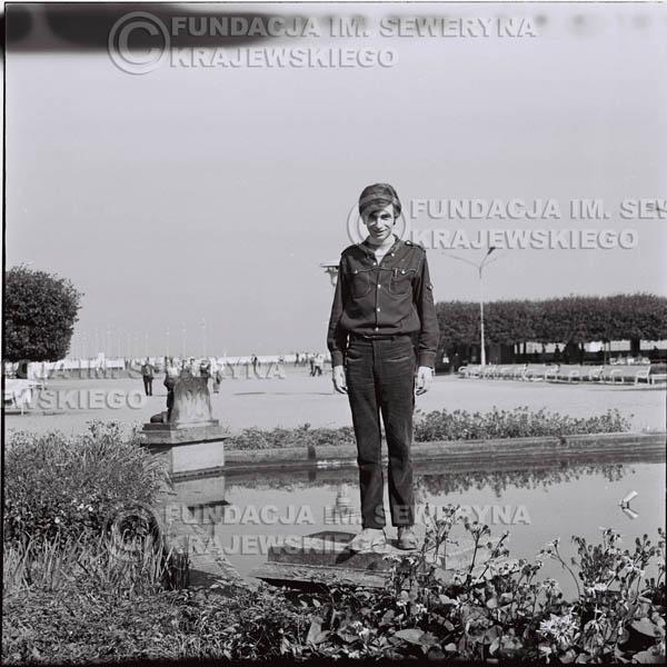 # 412 - Seweryn Krajewski, 1967r. sesja w Sopocie (zdjęcia dla fanów do autografów)