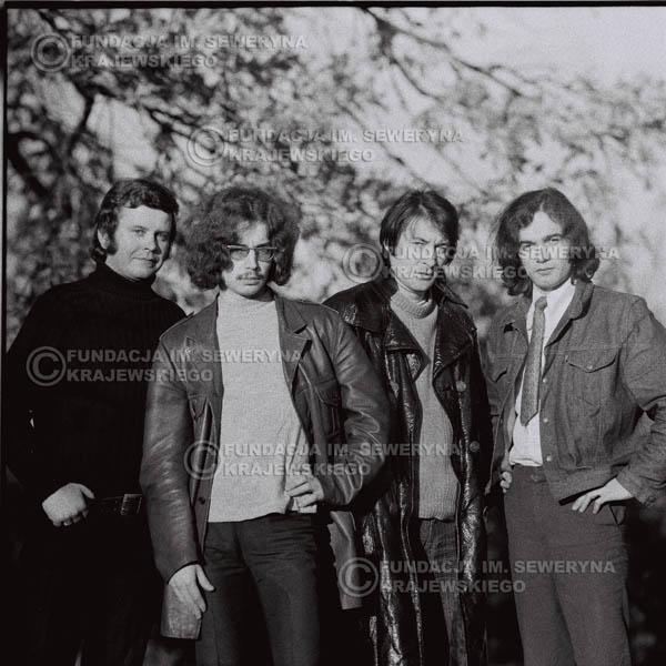 # 511 - 'Trzy Korony' 1970r - Od lewej: Ryszard Klenczon, Grzegorz Andrian Krzysztof Klenczon, Piotr Stajkowski