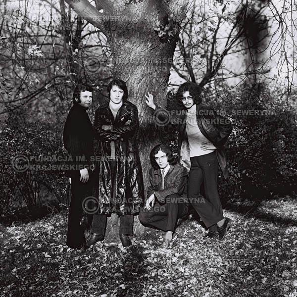 # 514 - 'Trzy Korony' 1970r - Od lewej: Ryszard Klenczon, Krzysztof Klenczon, Piotr Stajkowski,  Grzegorz Andrian.