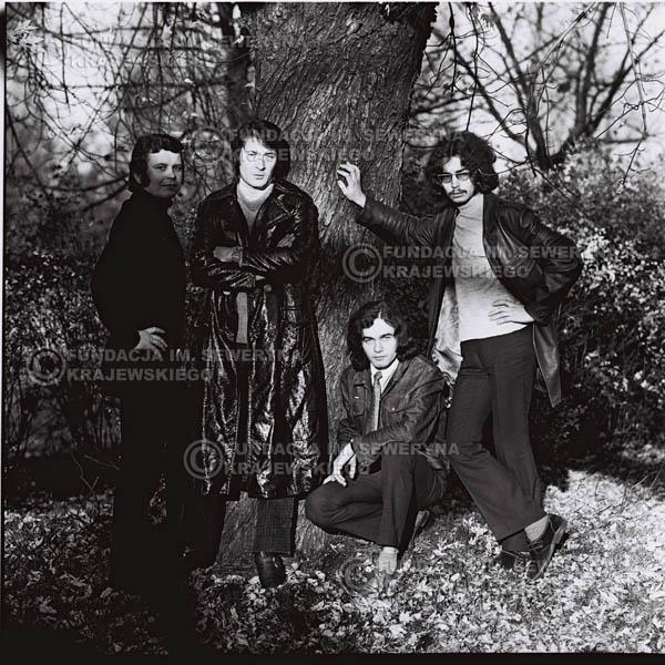 # 519 - 'Trzy Korony' 1970r  - Od lewej:Ryszard Klenczon, Krzysztof Klenczon, Piotr Stajkowski,  Grzegorz Andrian.