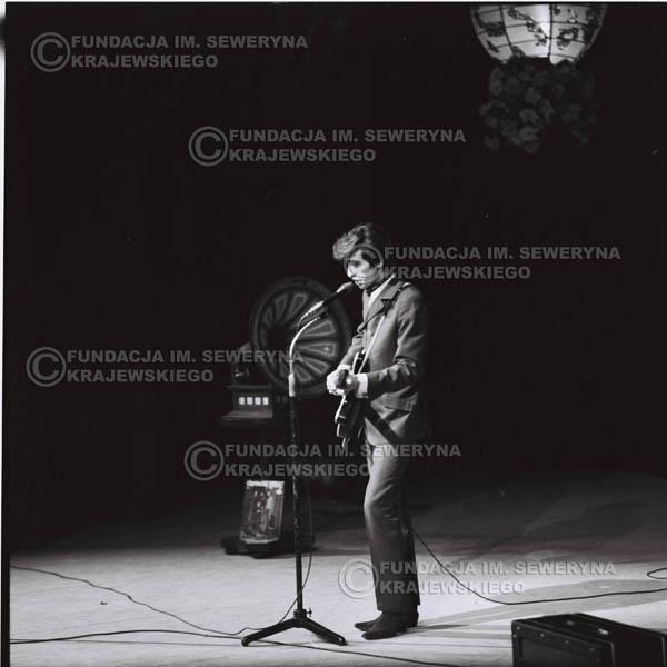 # 526 - 1968r. kwiecień,  Musicorama (powstała z inicjatywy Franciszka Walickiego) Sala Kongresowa w Pałacu Kultury i Nauki w Warszawie - Seweryn Krajewski.