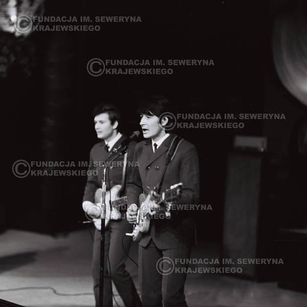 # 532 - 1968r. kwiecień,  Musicorama (powstała z inicjatywy Franciszka Walickiego) Sala Kongresowa w Pałacu Kultury i Nauki w Warszawie. Od lewej: Bernard Dornowski, Krzysztof Klenczon