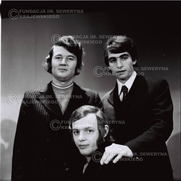 # 739 - Czerwone Gitary 1970r. w składzie: Seweryn Krajewski, Jerzy Skrzypczyk i Bernard Dornowski