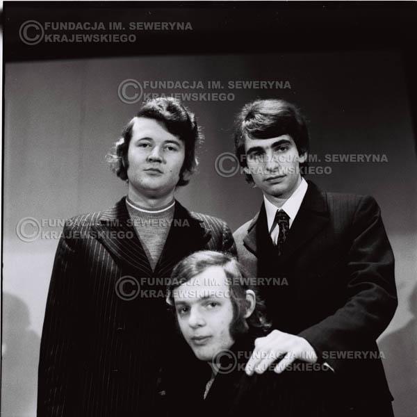# 741 - Czerwone Gitary 1970r. w składzie: Seweryn Krajewski, Jerzy Skrzypczyk i Bernard Dornowski