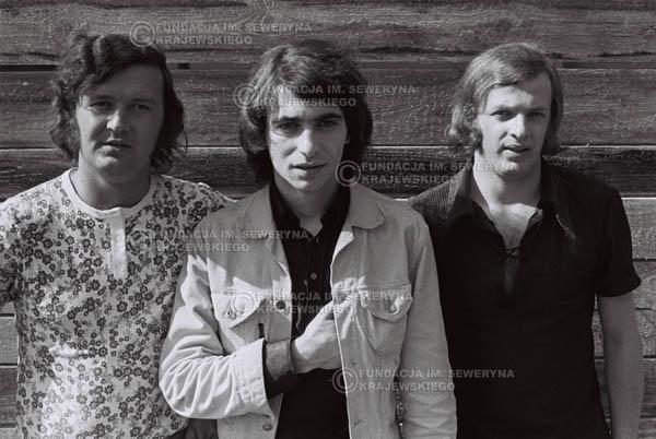 # 758 - 1970r. Warszawa, Czerwone Gitary w składzie: Seweryn Krajewski, Bernard Dornowski, Jerzy Skrzypczyk