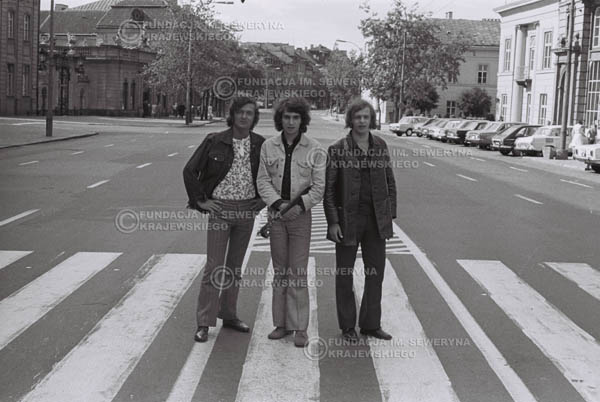 # 763 - 1970r. Warszawa, Czerwone Gitary w składzie: Seweryn Krajewski, Bernard Dornowski, Jerzy Skrzypczyk