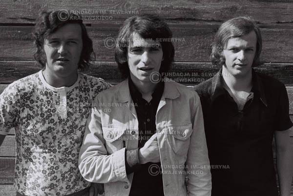 # 773 - 1970r. Warszawa, Czerwone Gitary w składzie: Seweryn Krajewski, Bernard Dornowski, Jerzy Skrzypczyk