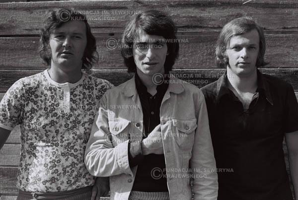# 775 - 1970r. Warszawa, Czerwone Gitary w składzie: Seweryn Krajewski, Bernard Dornowski, Jerzy Skrzypczyk