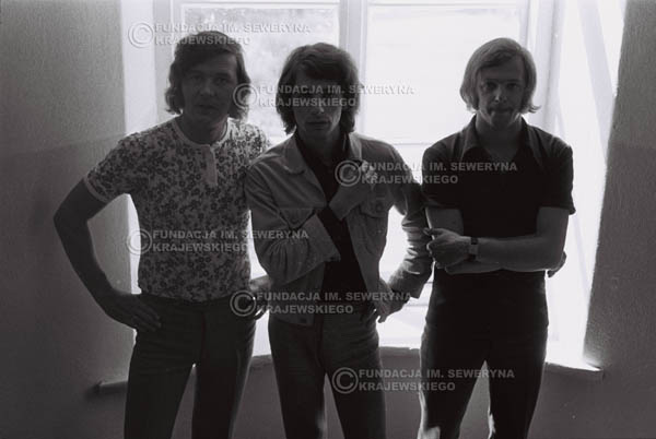 # 788 - 1970r. Warszawa, Czerwone Gitary w składzie: Seweryn Krajewski, Bernard Dornowski, Jerzy Skrzypczyk