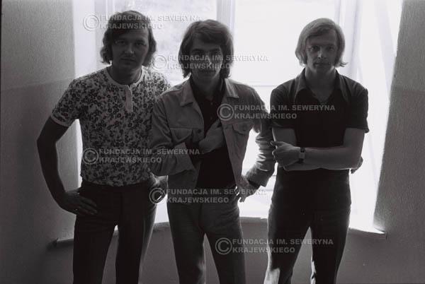 # 789 - 1970r. Warszawa, Czerwone Gitary w składzie: Seweryn Krajewski, Bernard Dornowski, Jerzy Skrzypczyk