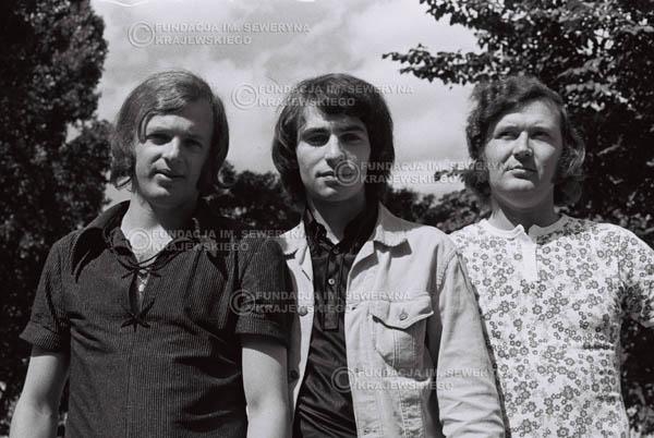 # 791 - 1970r. Warszawa, Czerwone Gitary w składzie: Seweryn Krajewski, Bernard Dornowski, Jerzy Skrzypczyk