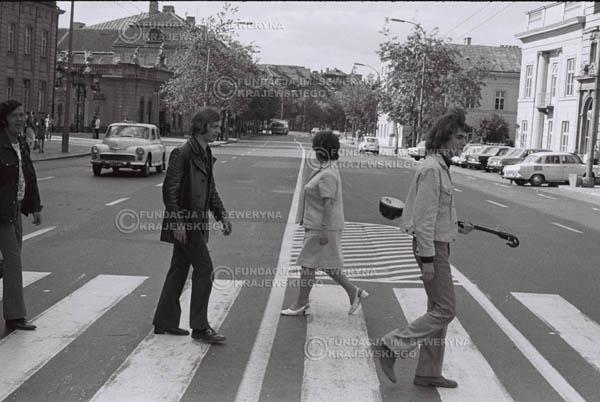# 809 - 1970r. Warszawa, Czerwone Gitary w składzie: Seweryn Krajewski, Bernard Dornowski, Jerzy Skrzypczyk