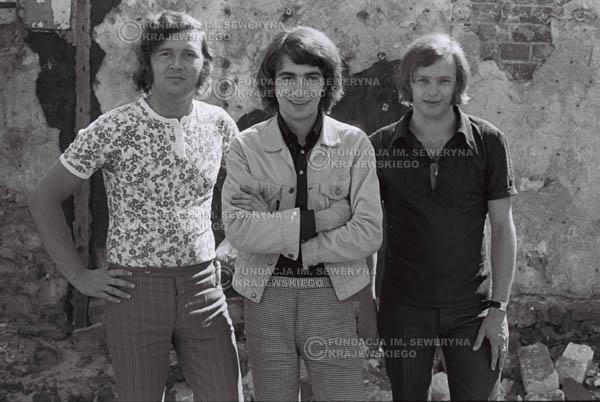 # 818 - 1970r. Warszawa, Czerwone Gitary w składzie: Seweryn Krajewski, Bernard Dornowski, Jerzy Skrzypczyk