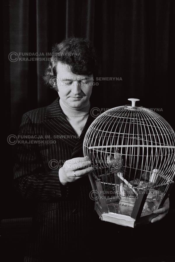 # 855 - 1968r. 'Zgaduj Zgadula' (program tv, papugi jako główna nagroda)