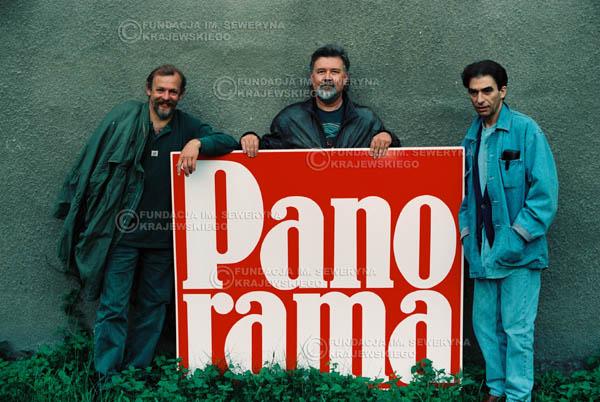 # 884 - 1991r. Od lewej: Jerzy Skrzypczyk, Bernard Dornowski, Seweryn Krajewski