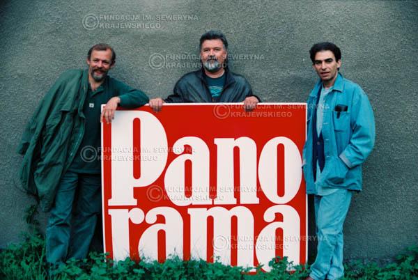 # 886 - 1991r. Od lewej: Jerzy Skrzypczyk, Bernard Dornowski, Seweryn Krajewski