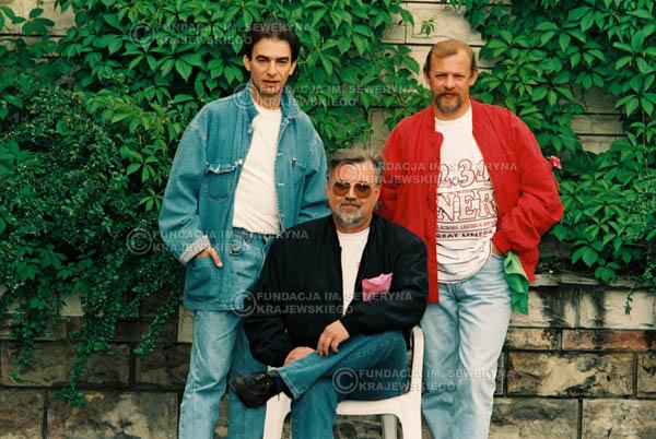 # 899 - 1991r. sesja zdjęciowa w Michalinie, Czerwone Gitary w składzie (come back):Seweryn Krajewski, Bernard Dornowski, Jerzy Skrzypczyk