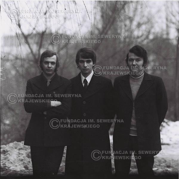 # 964 - 1970r. Czerwone Gitary w składzie: Seweryn Krajewski, Jerzy Skrzypczyk, Bernard Dornowski
