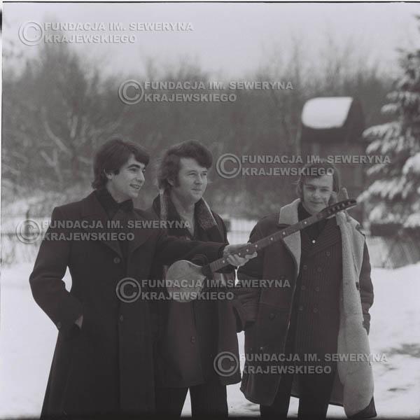 # 981 - zima 1970, Czerwone Gitary w składzie: Seweryn Krajewski, Bernard Dornowski, Jerzy Skrzypczyk