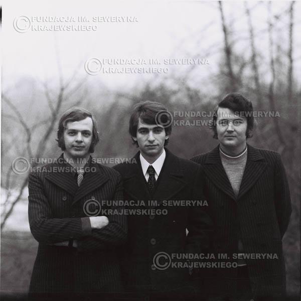 # 985 - zima 1970, Czerwone Gitary w składzie: Seweryn Krajewski, Bernard Dornowski, Jerzy Skrzypczyk